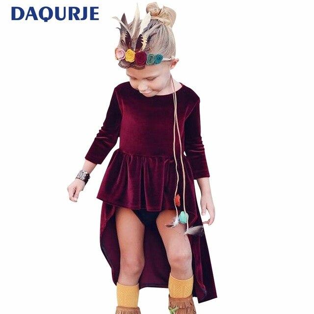 5b54c8f2810c Europa Style 0 4y Niemowlat Dziewczynek Sukienki Jesien Moda