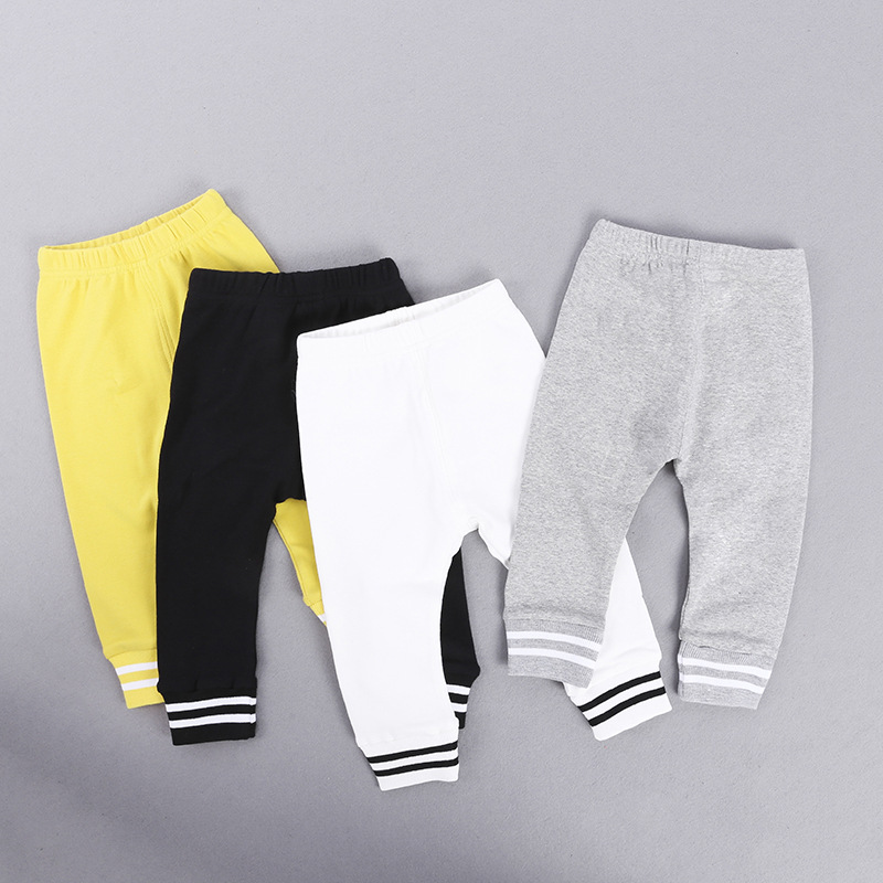 Boy Bowling Pants Spring And Autumn Children's Pants Baby Pants Children's Anti-mosquito Pants 2017 Girls Korean Version Of The