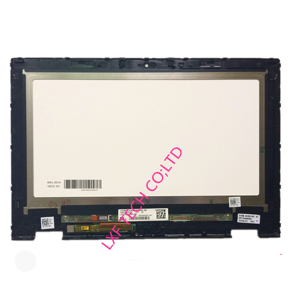 11.6'' For Dell Inspiron 3147 LCD Screen LED C1MNX HD Touchscreen Digitizer Bezel Assembly