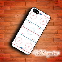 Coque Ice Hockey Rink Case For IPhone 7 6 6S Plus 5S SE 5 5C 4S