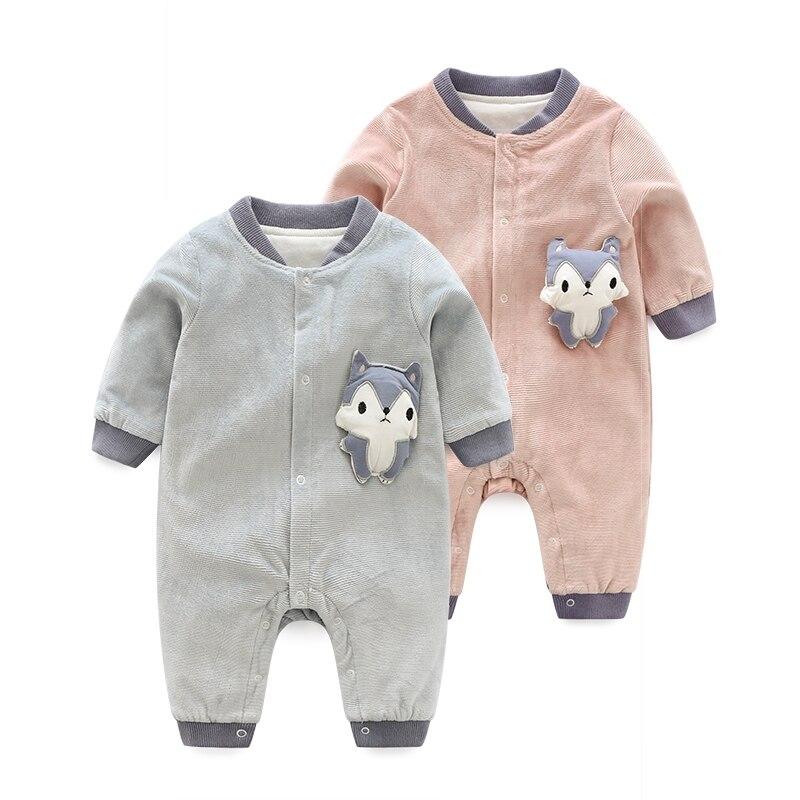 Newborn Kid Jumpsuit Baby boy girl clothes 2018 Children yellow Romper Clothes Long sleeve gentleman 3-12M Bebes Infant Costume