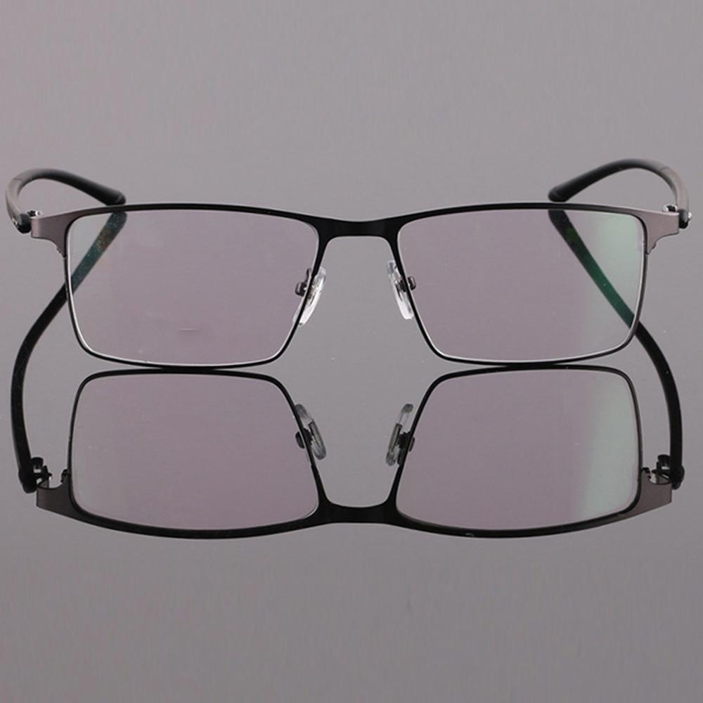b238e2ef67e גברים   s משקפיים Custom made prescription optical glasses photochromic  Classic large Titanium alloy full-rim frame myopia short sight reading