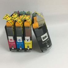 1Set LC123 Compatible Ink Cartridge For Brother MFC-J4410DW MFC-J4510DW MFC-J4610DW MFC-J4710DW MFC-J2510