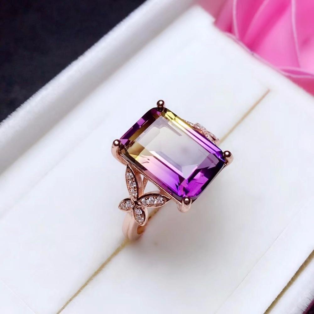 HTB1tzVPbtfvK1RjSszhq6AcGFXaj - Uloveido Exquisite Gemstone Natural Amethyst Lady Ring 925 Sterling Silver