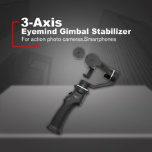 Eyemind 3-Axis Smartphone Handheld Gimbal Stabilizer for iPhone XS X 8 Xiaomi Samsung S9 S8 Action Camera PK Smooth 4 zhiyun smooth 4 3 axis handheld gimbal stabilizer for smartphone iphone xs x 8p 8 7 6s se samsung s9 s8 s7 with charging cable