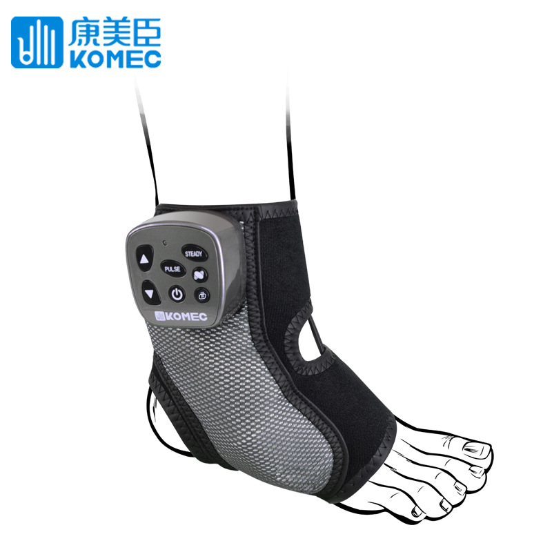 Komec wireless multi-frequency massage ankle massage belt heating vibration ligament strain repair massage belt wholesale dynamic bodyuse for effective strain free massage