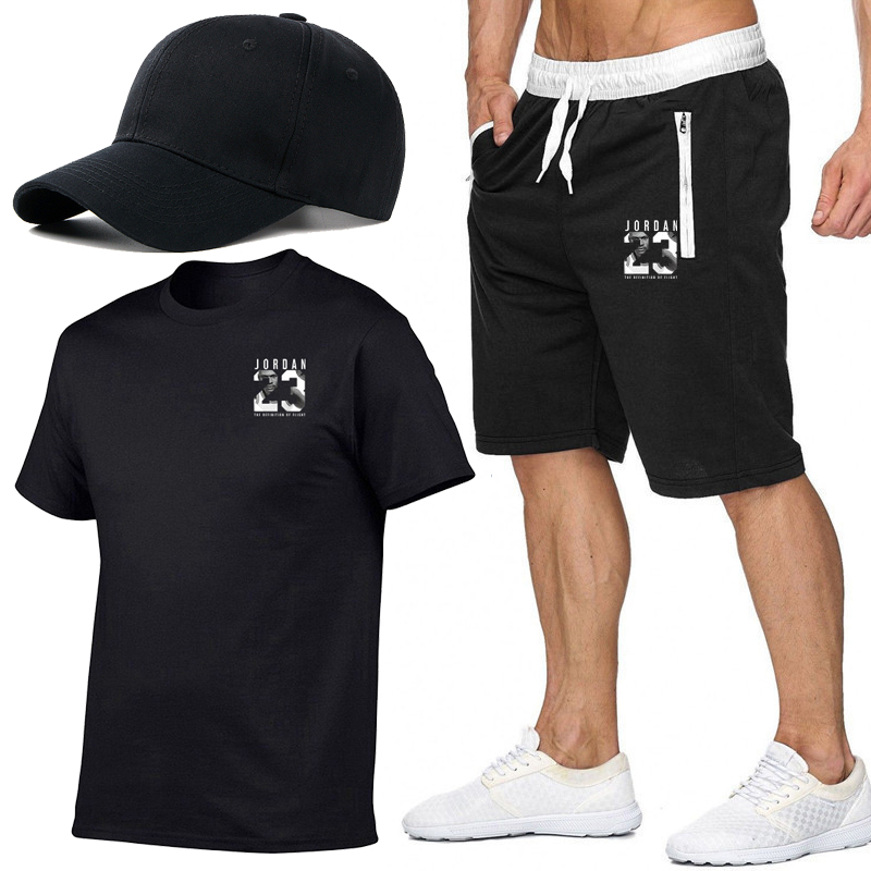 2019 Summer New printing Mens Male Sweatpants Fitness Bodybuilding Workout Fashion Men Leisure   Shorts   masculino