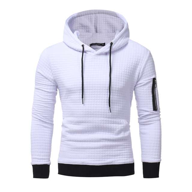 dd7dc388906d Hoodies Men 2017 Brand Male Long Sleeve Solid Color Hooded Sweatshirt Mens  Hoodie Slim Tracksuit Sweat