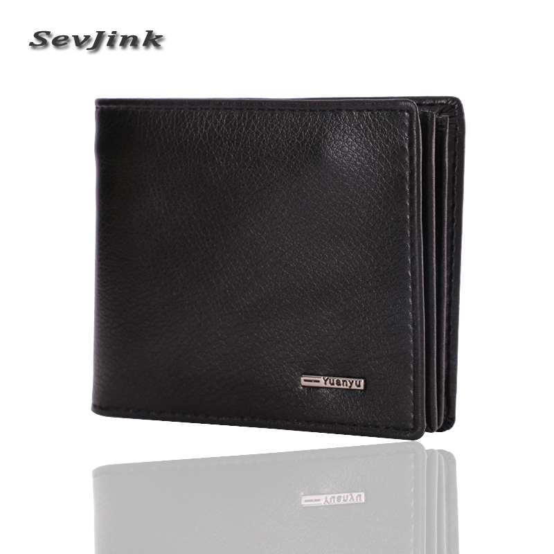 Fashion men wallets famous brand mens wallet male leather purse card cash receipt holder organizer bifold wallet purse pocket