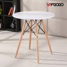 WFGOGO Round Coffee Table Creative Leisure Negotiation And Chair Apartment Living Room Home Furniture Loft Style Tables