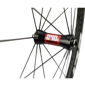 Image 4 - Elite KING DT السويسري 240S الكربون دراجة عجلة 30 35 38 45 47 50 55 60 88 مللي متر 700c الطريق دراجة العجلات أنبوبي الفاصلة لايحتاج جاهزة