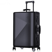 Men 20 24 Inch Rolling Luggage Bag Aluminium Frame Trolley Solid Travel Women Boarding Bags Carry On Suitcases Trunk Lockbox