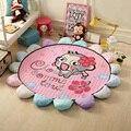 Tapetes de Jogo Do Bebê de Algodão Macio de alta Qualidade Portátil Toy Kids Casa Cobertor Do Bebê Almofada Criança Esteiras Bebê Engatinhando Tapete