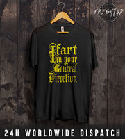 I Fart In Your General Direction T Shirt Top Monty Python And The Holy Grail Cheap wholesale tees Fashion Style Men Tee