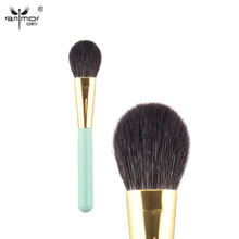 Customized Brand New Makeup Brushes & Tools Goat Hair Green Face Blush Brush