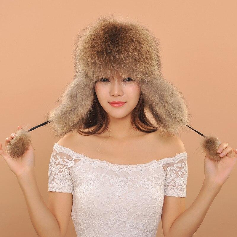 f672d0f05d9 Women Has 2017 Beautiful Russian Hat Women Ladies Warm Rex Fox Fur Hat  Female Winter Hat Winter Hats For Men Fur Ushanka-in Skullies   Beanies  from Apparel ...