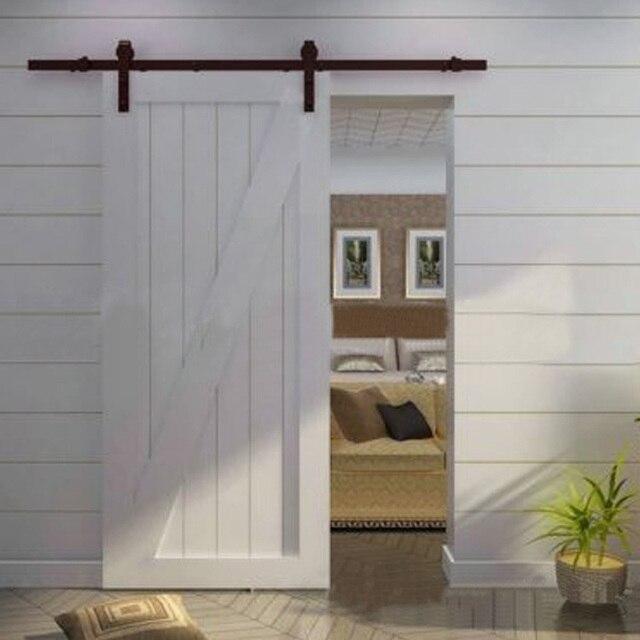 Foreign wood sliding door hardware accessories American barn door ...