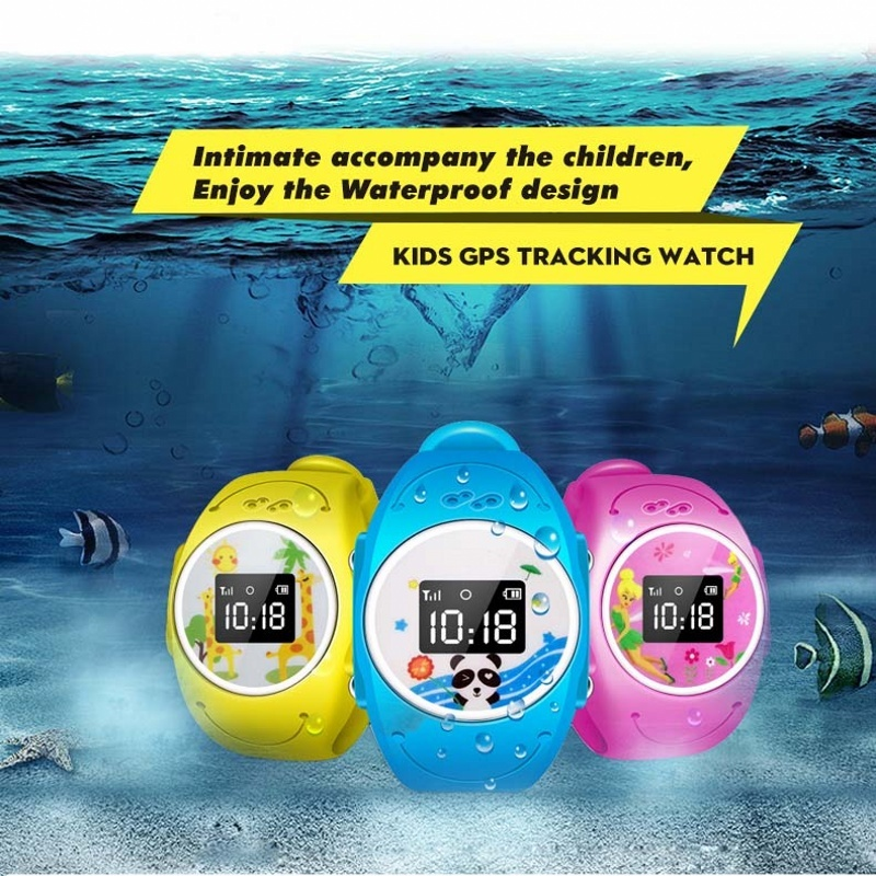Smart Watch Children Kid Wristwatch GPS Tracker Smart Watchs Anti Lost Q520S font b Smartwatch b