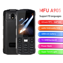 MFU 2G Feature Rugged Phone 3.5