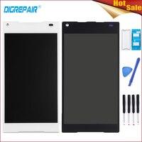 100 New Black White For Sony Xperia Z5 Compact Mini E5803 E5823 LCD Display Digitizer Touch