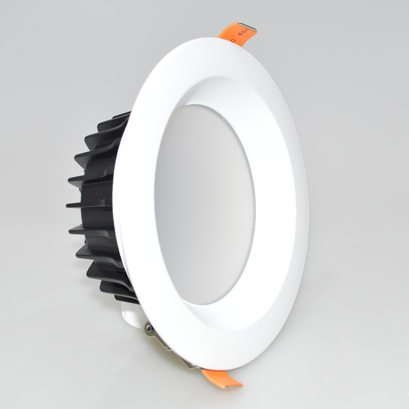 Recessed LED COB downlight Dimmable 5W 7W 10W 15W 20W 30W 40W 50W 60W dimming LED Spot light led ceiling lamp AC110V 220V no dimmable recessed led downlight cob 40w 60w led spot light led ceiling lamp ac110v 220v free shipping