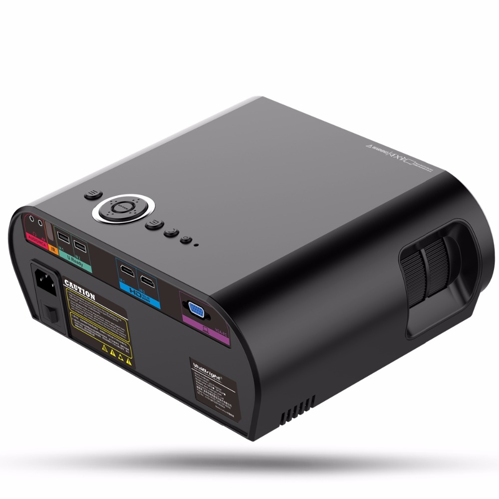 Portable tv projector 3200 lumens 1280 800 resolution 3000 for Projector tv reviews