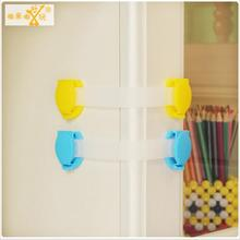 5pcs 15cm baby safety lock refrigerator drawer for cabinets locker sliding door fridge protection of children locking door