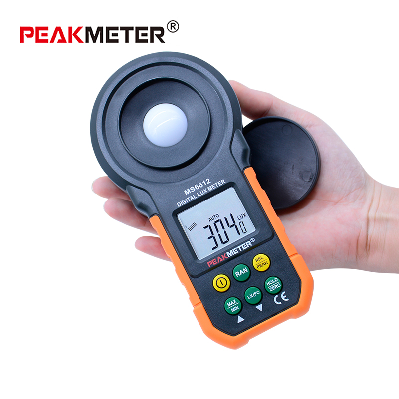 Light Measuring Instruments : Peakmeter ms digital luxmeter lux light meter