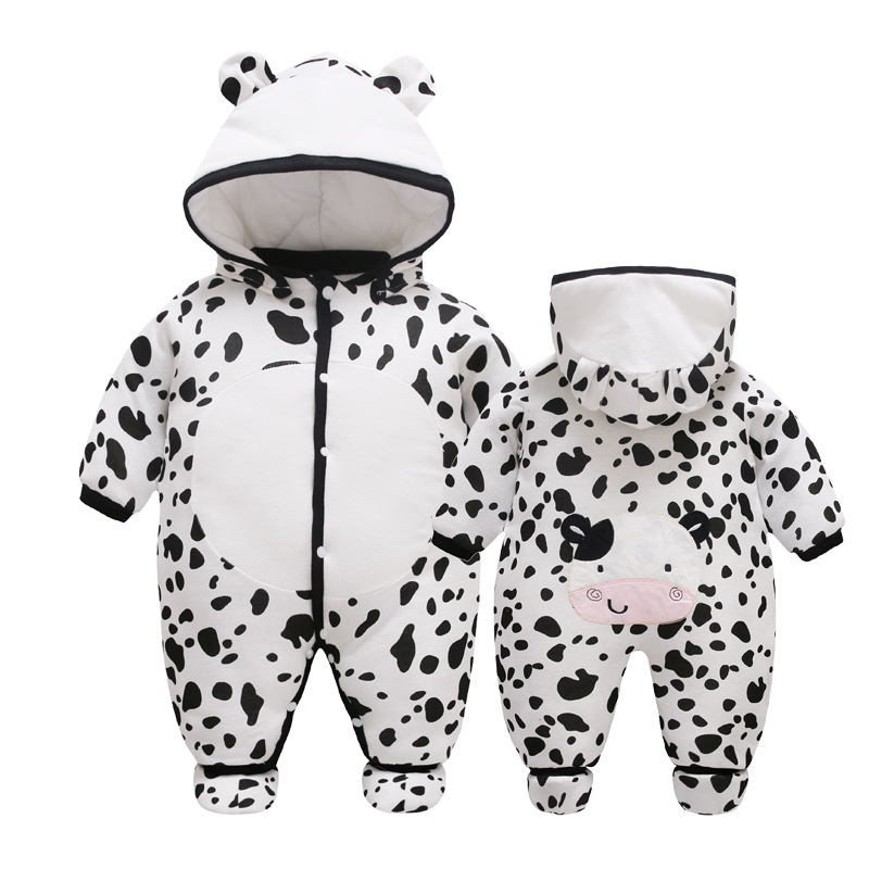 Godier Baby Winter Rompers Warm Jumpsuit Fleece Cotton Romper Boys Girls Clothes With Shoes Newborn Baby Clothing Infant Costume baby clothing newborn baby rompers jumpsuits cotton infant long sleeve jumpsuit boys girls spring autumn wear romper clothes set