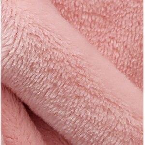 Image 5 - 겨울 플란넬 커플 긴 따뜻한 후드 목욕 가운 여성/남성 섹시 플러스 사이즈 드레싱 가운 들러리 가운 잠옷 여성