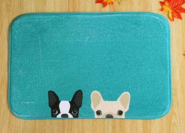 Badkamer Tapijt Badmat : Cartoon honden pvc badmat antislip badmatten geschikt voor auto