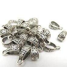 Лучшее качество, 30 шт серебряных бусин под заказ, подходит для изготовления браслетов, ювелирных изделий, 15x9 мм(W01856 X 1