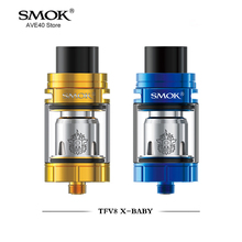 100% Original Smok TFV8 X-Baby Tank 4ml Top-filling Adjustable Airflow TFV8 X Baby Atomizer fit for Stick V8 & T-PRIV Box Mod