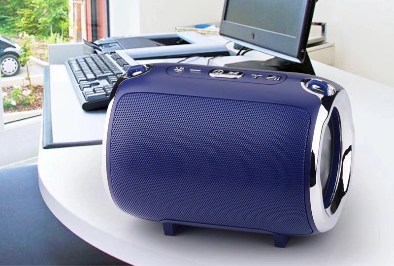 Image 5 - New S518 music mini subwoofer plug in card wireless bluetooth speaker with radio function  music player Boom box sound system wi-in Subwoofer from Consumer Electronics