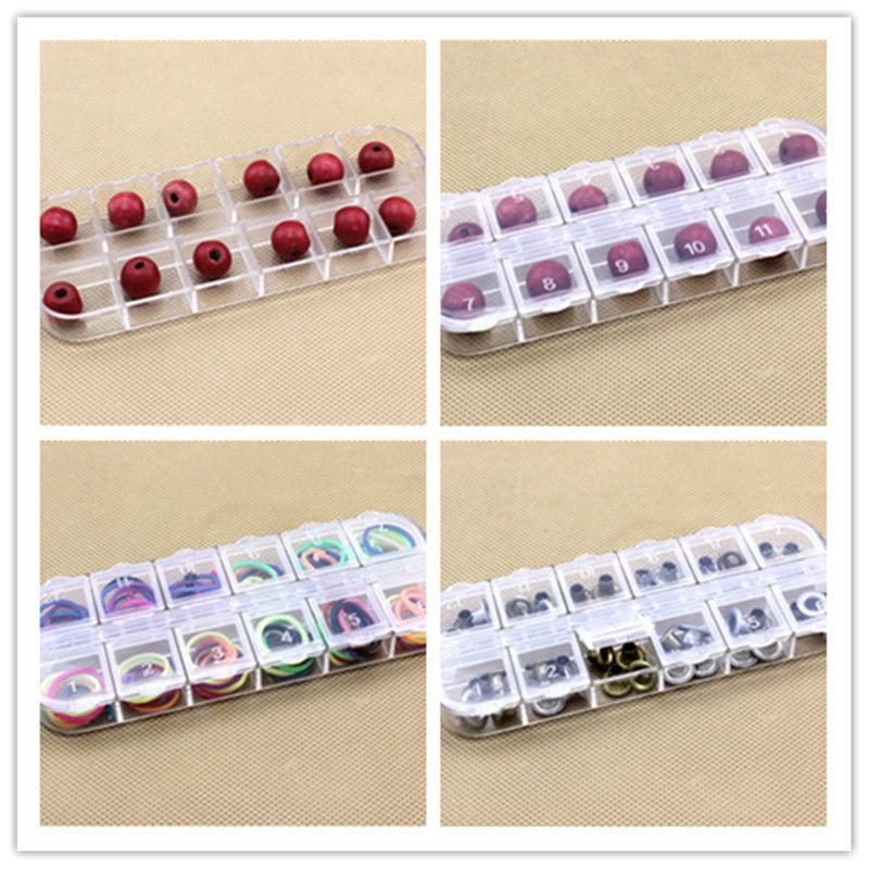 Горячие Пластик ясно пустой ящик для хранения чехол для Дизайн ногтей советы со стразами коробка
