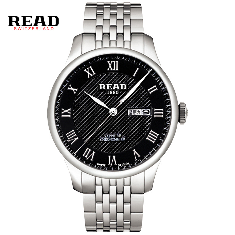 Hot READ Watches Men Luxury Brand Famous Logo Military Analog Digital Date Week Display Relogio Masculino 6029