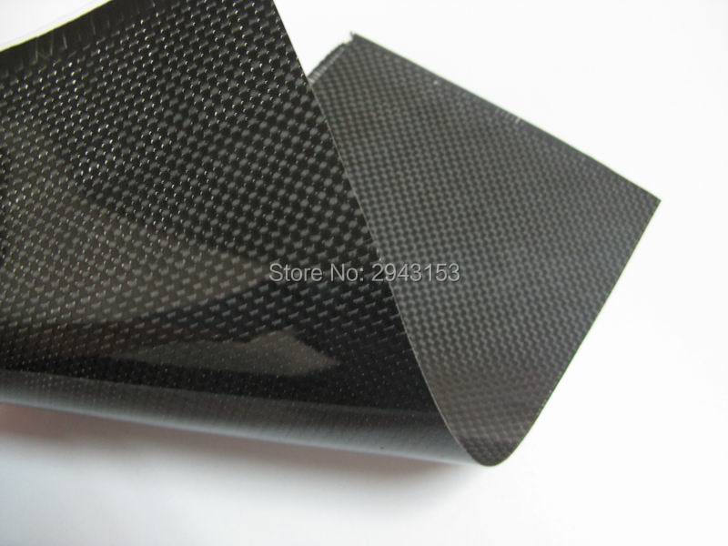 0.4mm*300*500mm 3K twill plain weave glossy matte Carbon Fiber plate/panel/sheet for RC Airplane Quadcopter Multirotor frame