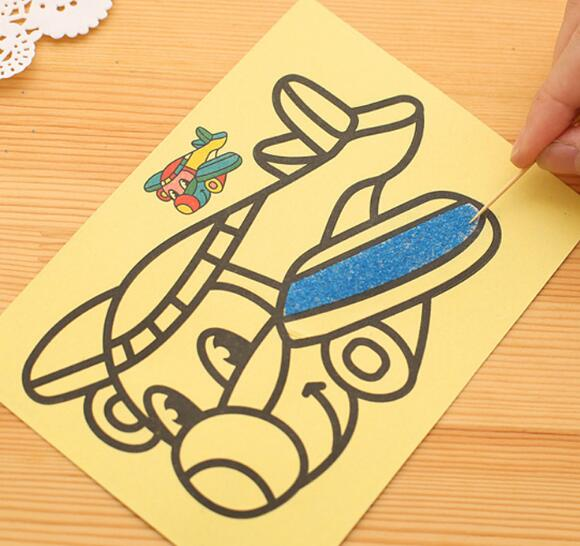 5pcslot-Children-Kids-Drawing-Toys-Sand-Painting-Pictures-Kid-DIY-Crafts-Education-Toy-3