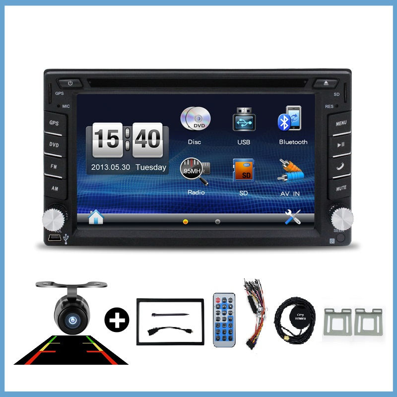 Cam Car DVD player Radio 2 din GPS usb Auto Bluetooth universal For X-TRAIL Qashqai x trail juke for nissan Stereo Radio SD USB