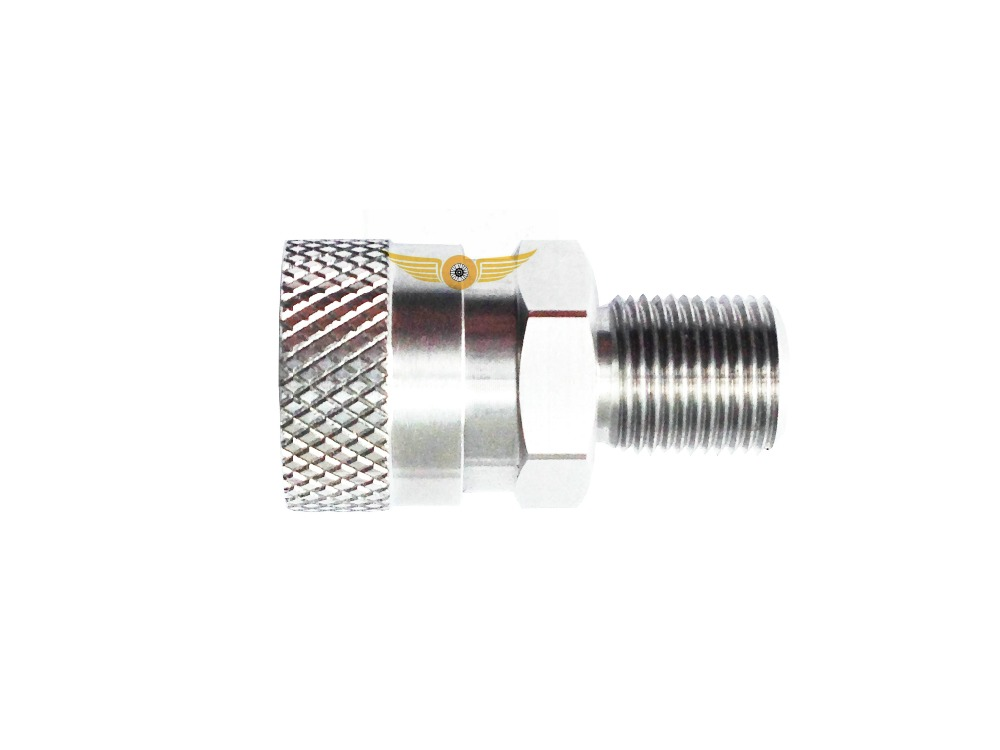 1/8BSPP PCP Paintball Diving Quick Disconnect Male Thread Female Socket  Stainless Steel QD 1LOT=2PCS
