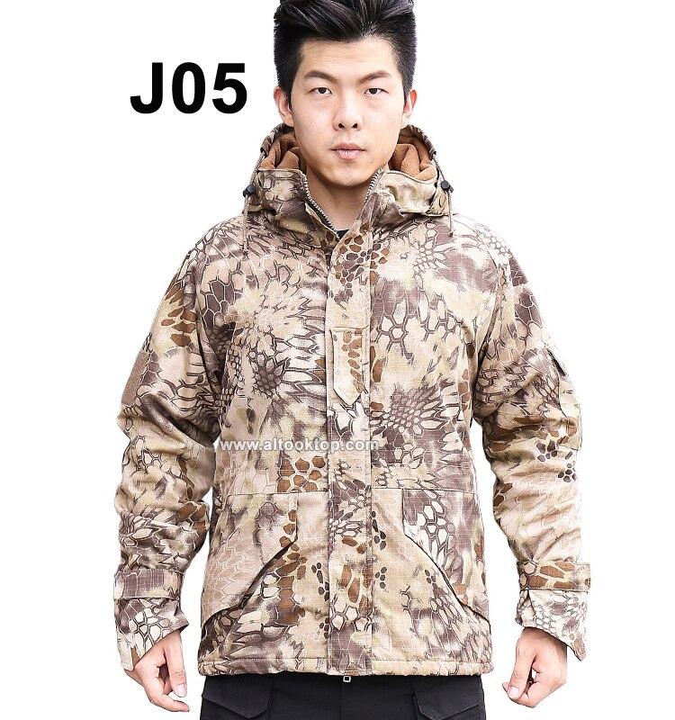 Куртка Софтшелл мужская куртка-бомбер Открытый военный тактический Охота Одежда водонепроницаемый ветрозащитный пальто камуфляж армии Ти...