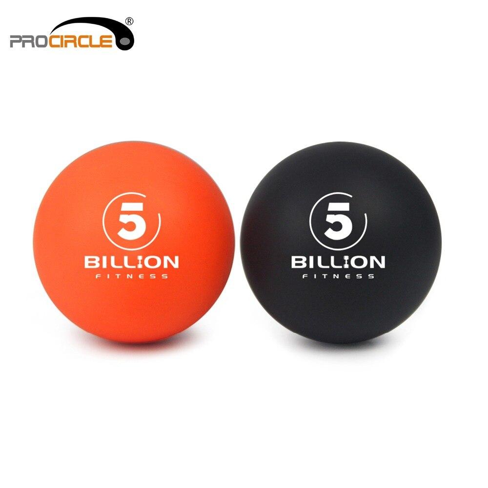 Pelotas de Lacrosse-tejido profundo masajeador... conjunto de 1 naranja y negro-seguro y eficaz para aliviar y relajarse miofascial bolsa