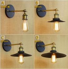 Loft style Industrial Vintage Wall Lamp For Home Lighting Edison Retro Wall Light Fixtures Sconce Applique LED Lampara pared simple style wood wall sconce modern led wall lamp creative bedroom bedside wall light fixtures home lighting lampara pared