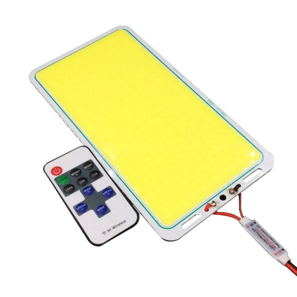 12 v LED פנל רצועת COB שבב אור מנורת אין הבהוב לא UV להקת Plafon LED מקורה Para Techo סופר עם חוט Led בקר RGB