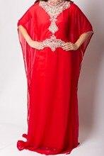 High Neck Elegant Evening Dresses New Arrival Caftan Marocain Islamic Abaya in Dubai Long Sleeve Beads Crystals For Wedding