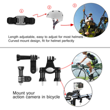 GoPro Accessories Set for Go Pro Hero 5 6 4 3 Xiaomi Yi 4K Lite