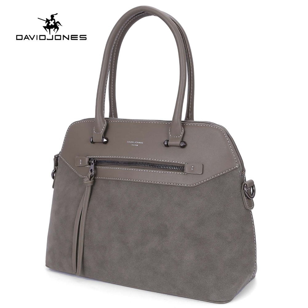 DAVIDJONES women handbag faux leather female tote bags large lady solid shoulder bag girl brand crossbody bag free shipping faux leather minimalist practical 3 pieces tote bag set