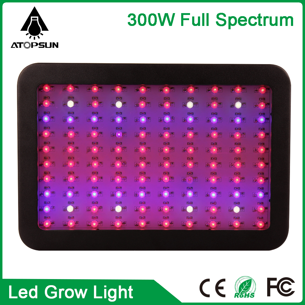 1pcs Full Spectrum Led Grow Light 300W 100leds For Flowering Plant Veg Hydroponics system LED lamp aquarium led lighting led box 90w ufo led grow light 90 pcs leds for hydroponics lighting dropshipping 90w led grow light 90w plants lamp free shipping
