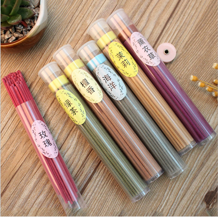 50 large-capacity sandalwood stick incense bedroom aromatherapy indoor health incense stick incense home decoration