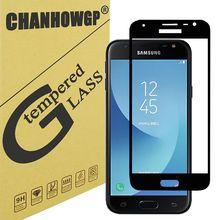 Szkło hartowane dla Samsung Galaxy J3 J5 J7 2017 2016 a3 A5 2017 w sprawie J5 J7 J2 Prime Screen Protector etui pełne pokrycie ochronne tanie tanio Telefon komórkowy Ultra-cienki odporny na zarysowania łatwy w instalacji Galaxy A3 Galaxy J7 Galaxy J5 Galaxy A5
